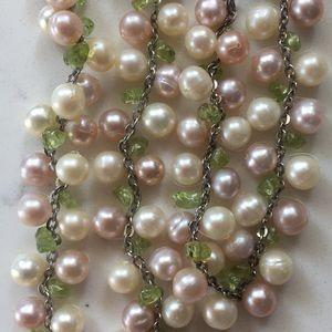 Na Hoku pearl necklace and bracelet set
